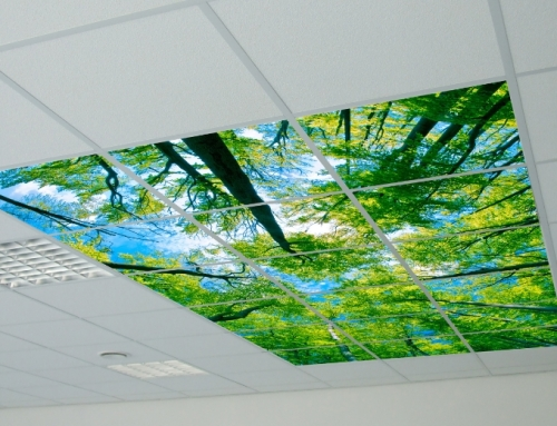 LED Photo panel trees