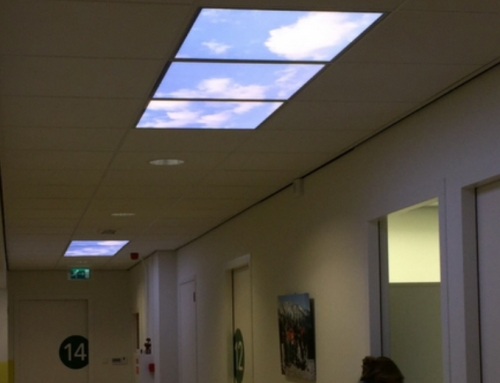 LED Fotopaneel in ziekenhuis