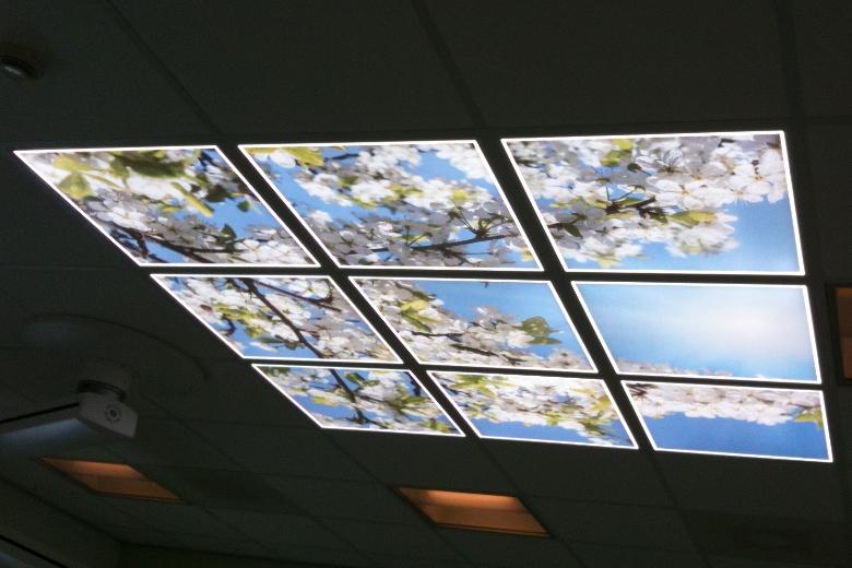 LED FotoPaneel sfeerplafond wolkenlucht wolkenplafond LIGHTcreations Apeldoorn