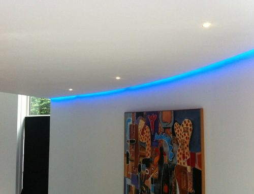 LED strips Blue 2