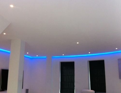 LED Strips Blue