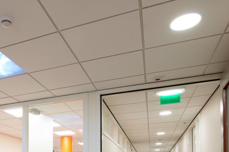 Ronde LED panelen